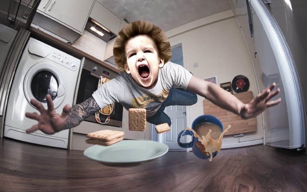 Психованный мальчик и неправильная авария