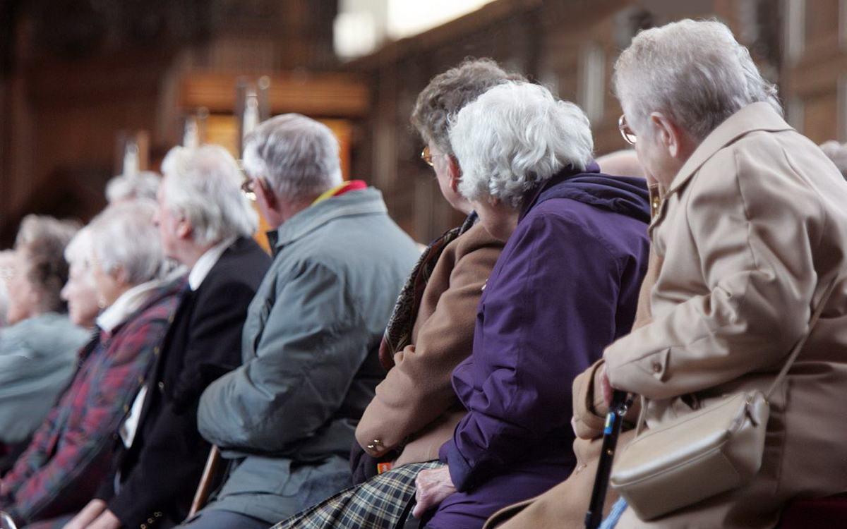 Пенсионерский дух