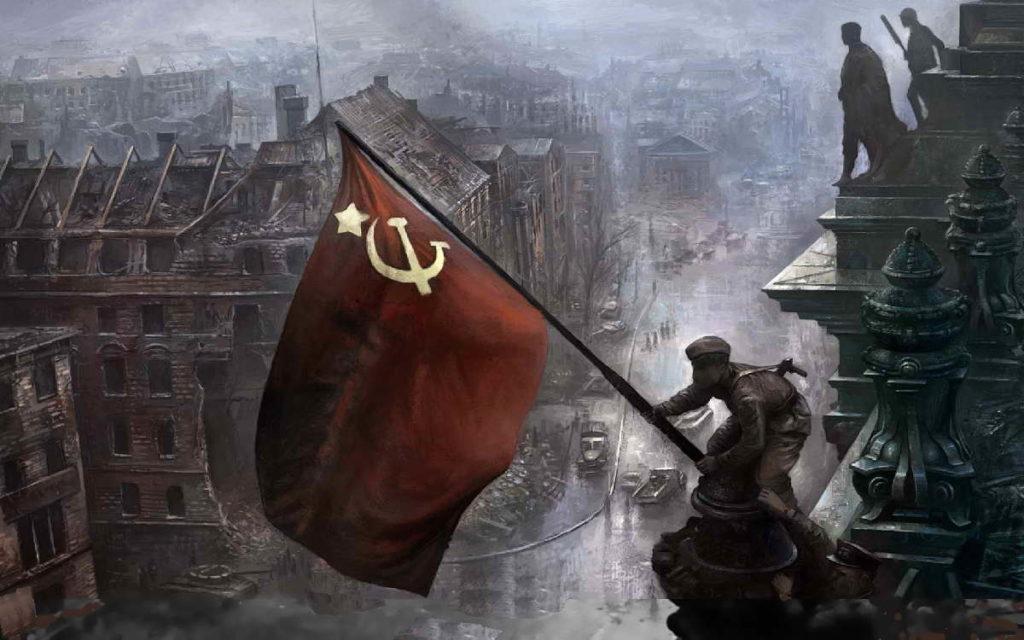 Знамя победы не над электроплитами