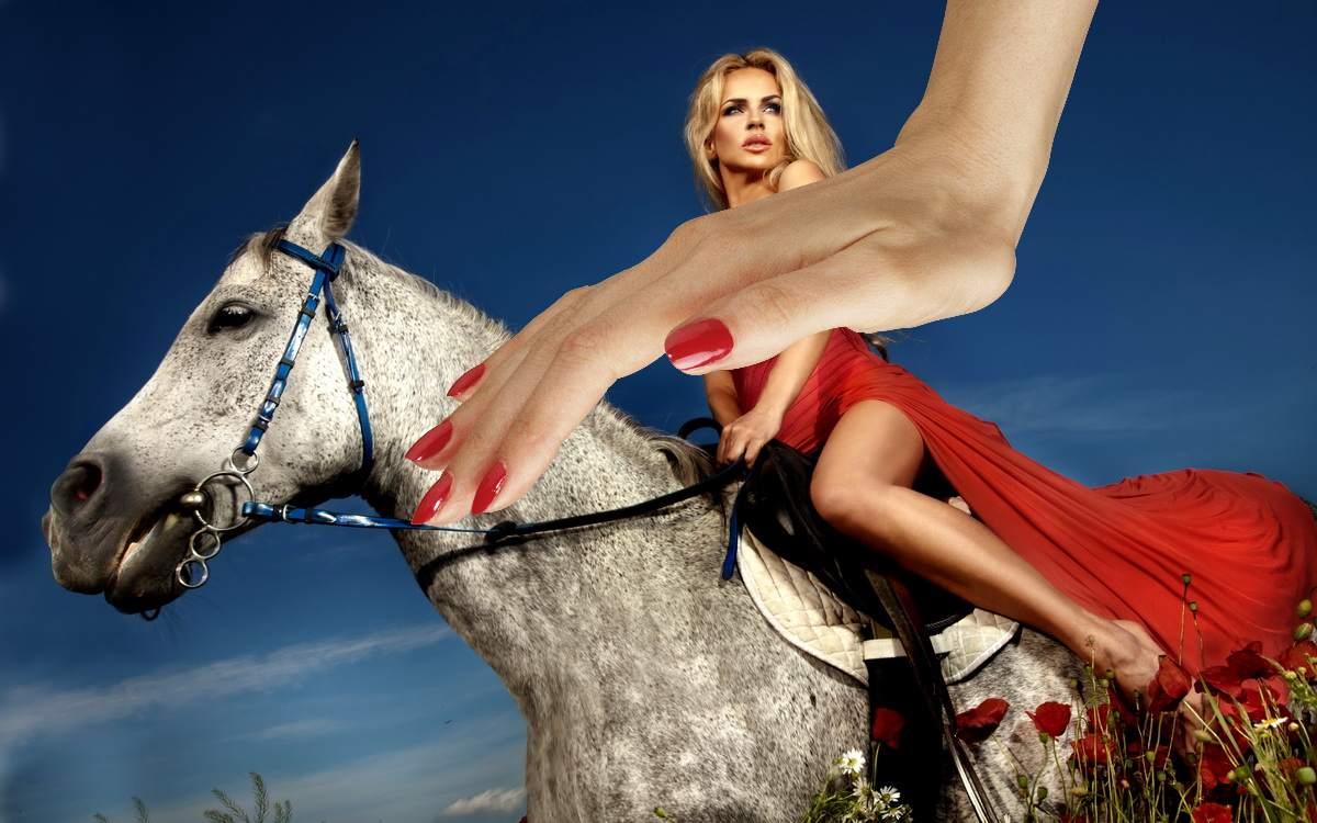 Конь с ногтями